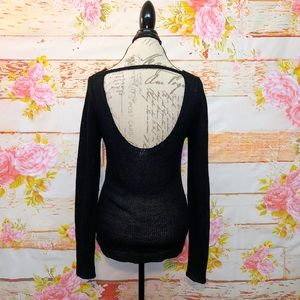 PINK Victoria's Secret Sweaters - PINK Open Back Sweater